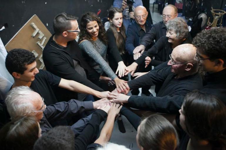 הצגת תיאטרון קהילתי | צילום: אסף ברנר